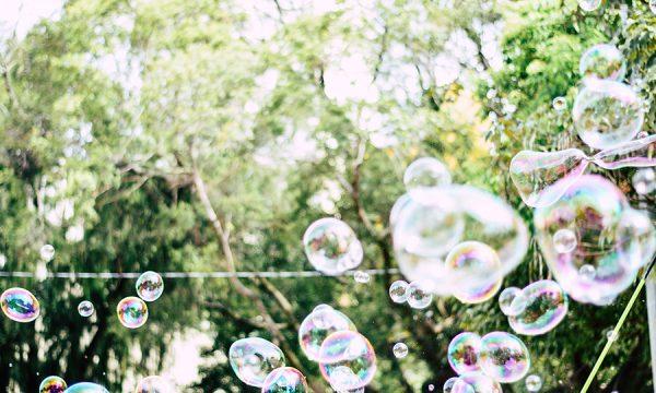 Riesenseifenblasen von feliphe schiarolli