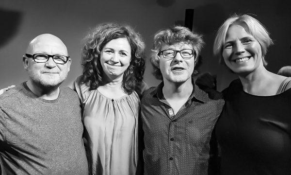 Günter Denkler, Manukai, Markus Kaiser und Andrea Russo: Foto: Salvatore Russo