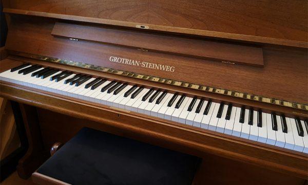 Klavier von Grotrian-Steinweg, gebaut '88